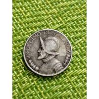 Панама 1/10 бальбоа 1931 г ( 900 пр. тир 200 тыс. )