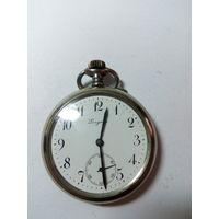 Швейцарские карманные часы Longines 1914-15гг на ходу с 1 рубля без МПЦ