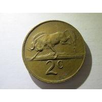 ЮАР 2 цента 1981 г. Распродажа