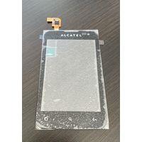 Сенсорный экран Alcatel OT-985, Black, original (AUE327AA10C2) Alca