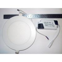 Светодиодная панель с драйвером 12 Вт.