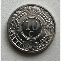 10 Центов 1991 (Нидерландские Антилы)