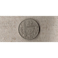 Франция 25 сантимов 1904//(Oct)