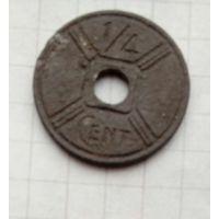 ИндоКитай1./4 сантимос.Правительство Виши. 1942г.Не частая
