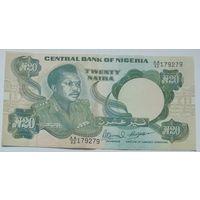 Нигерия 20 Найра 1984, XF+, 281