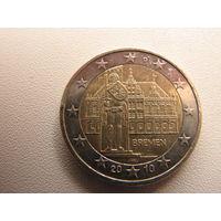 2 евро 2010 Бремен