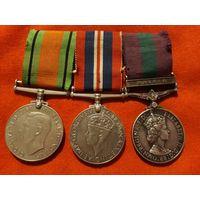 3 Медали Англия Летчика