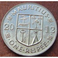 5554:  1 рупия 2012 Маврикий