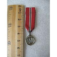 Миниатюрка к медали