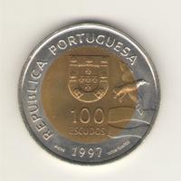 100 эскудо 1997 г. Лиссабон. ЭКСПО 1998.