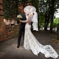 Свадебное платье Papilio с фатой