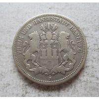 Гамбург Германская империя 2 марки 1876