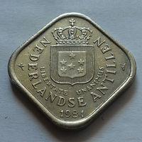 5 центов, Нидерландские Антильские острова, (Антиллы) 1984 г.