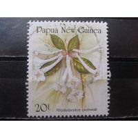 Папуа Новая Гвинея 1989 Рододендрон