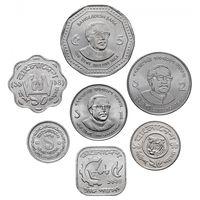 Бангладеш набор 7 монет UNC