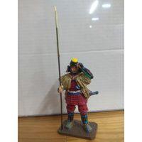 Солдатик НЕ оловянный(военно-историческая миниатюра) самурай Del prado (Дель прадо) Sengoku Musha