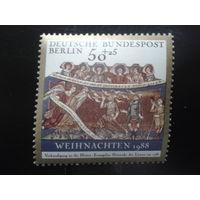 Берлин 1988 Рождество Михель-1,6 евро