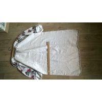 Самотканое платье из бабушкиного сундука .Молдавская народная вышивка .Ручная работа !!