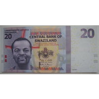 Свазиленд 20 эмалангени 2010 г. (g)