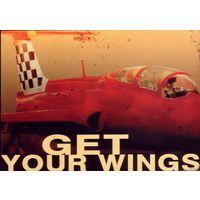 Рекламная открытка Аэроклуб