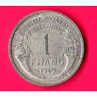 14-06 Франция, 1 франк 1949 г.
