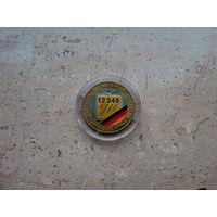 Медаль Новые почтовые индексы 1993 Германия диаметр 35 мм.