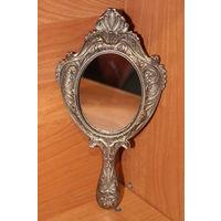 Шикарное дамскае зеркало металл Старт с 2-х рублей без мц Смотрите мои лоты много лотов с 2-х рублей