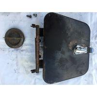 Пробка топливного бака  с замочком и крышка  с механизмом крепления от ГАЗ-24-пикап! цена за лот!