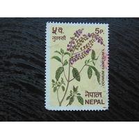 Непал 1980г. Флора