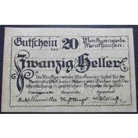 Нотгельд. 20 геллеров. #1