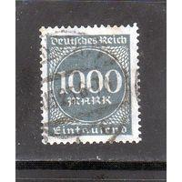 Немецкий рейх. Ми-273. Цифра 1000 в кругу. Инфляционные серии.1923.