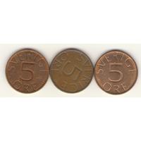 5 эре 1979, 1980, 1981 г.