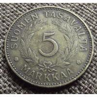 Финляндия. 5 марок 1946