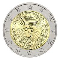 2 евро 2019 Литва Сутартинес UNC из ролла