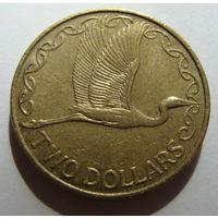Новая Зеландия 2 доллара 2005 г