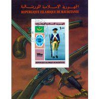 Мавритания.200 лет Соединенным штатам.Солдат.Блок.