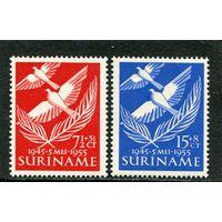 Суринам. Первый выпуск при получении автономии