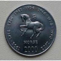 Сомали 10 шиллингов 2000, лошадь