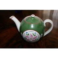 Чайник для коллекционеров чайников ручная роспись довоенный