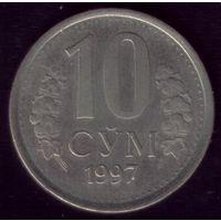 10 Сум 1997 год Узбекистан 2