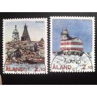 Аланды  1992 маяки