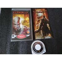 God of War chains of olympus PSP диск