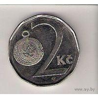 Чехия, 2 koruna, 2007