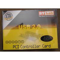 НОВЫЙ Контроллер ST-Lab U-164 (4xUSB, PCI)