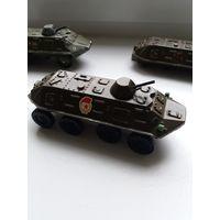 Машинки СССР БТР, 3 шт одним лотом.