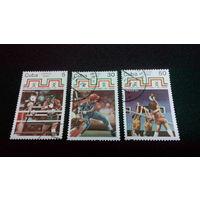 Куба 1990. 16-я Центрально-Американская и Карибская игры, Мексика. Полная серия.