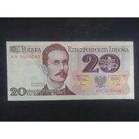 20 злотых 1982 года. Польша. UNC. Распродажа