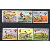 Мозамбик - 1981 - Футбол - [Mi. 788-793] - полная серия - 6 марок. MNH.
