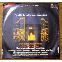 Kammerorchester Hannover, Niedersachsisches Staatsorchester Hannover, Werner Heutling, Peter Martin - Festliches Herrenhausen (2 х Vinyl)