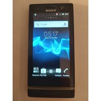 Телефон Sony Xperia U ST25i Black